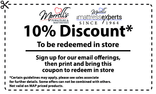 Morrells 10% Off In Store Coupon